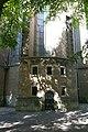Choir entrance and former librije, Janskerk Utrecht, Janskerkhof.JPG