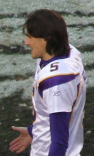 Chris Kluwe - Kluwe after a game in 2010