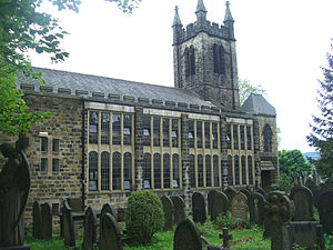 Christ Church, Fulwood, Sheffield - Image: Christ Church, Fulwood, Sheffield