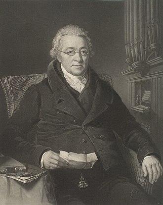 Christian Ignatius Latrobe - Christian Ignatius Latrobe, mezzotint by Samuel Bellin, after Thomas Barber