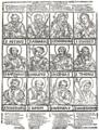 Christian Schmid - die zwölf Apostel, 17. Jh. Holzschnitt.png