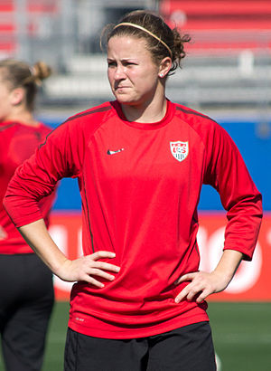 Christine Nairn - Nairn playing for the United States in 2012