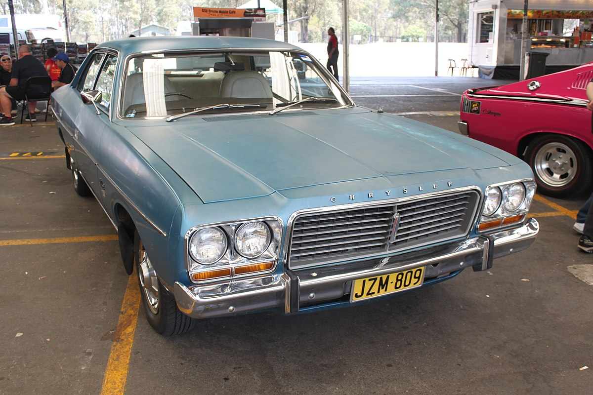 2 Door Charger >> Chrysler Valiant (CL) - Wikipedia
