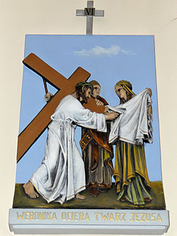 Church of the Assumption of Mary in Kock - Stations of the Cross - 06.jpg