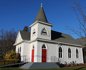 Cotati, California - The Church of the Oaks (built in 1907)