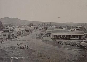 Timeline of Pretoria - Image: Church street 1881