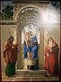 Cima, Madonna col Bambino in trono tra i santi Giacomo apostolo e Girolamo, 1489 (vicenza, palazzo chiericati) 01.JPG