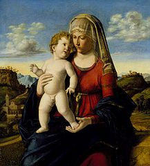Madonna and Child in a Landscape (52.9.152)