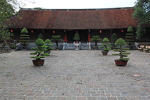 Cổ Loa Citadel - Ngự Triều Di Quy communal house inside the citadel