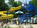 City of Summit Family Aquatic Center water slide.JPG