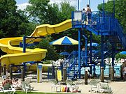 City of Summit Family Aquatic Center water slide