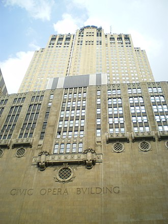 Samuel Insull - Chicago's Civic Opera Building, a 45-story skyscraper built by Insull, completed in 1929 (2007)