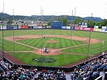 Civic Stadium with Aqua Sox - Eugene, Oregon.jpg