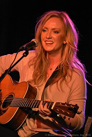 """Clare Dunn - Clare Dunn in performance for Y100's Bra Country Concert on October 14th at the new """"Backstage At The Meyer"""" in downtown Green Bay to benefit the Breast Cancer Family Foundation in 2015"""