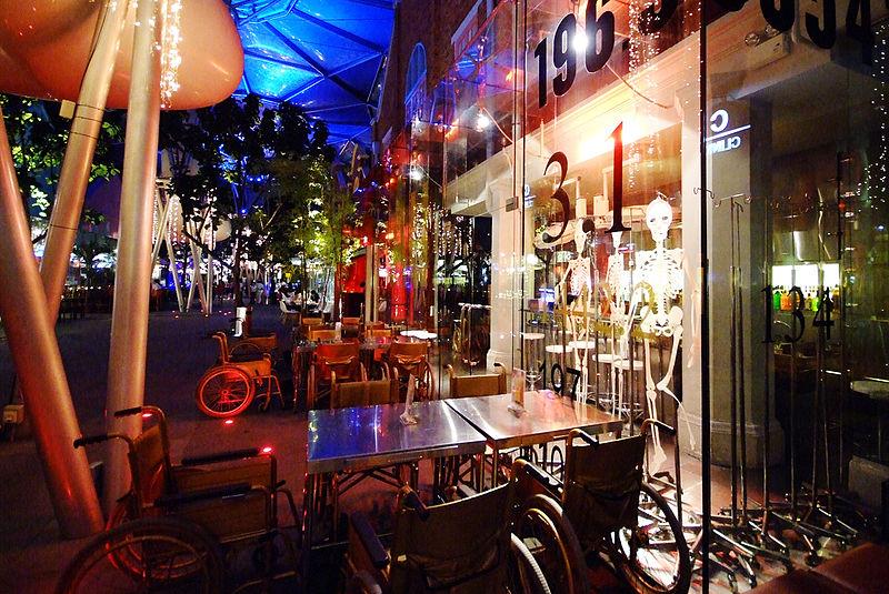Nightclub in Clarke Quay