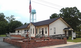 National Register of Historic Places listings in Bladen County, North Carolina - Image: Clarkton Depot Aug 11