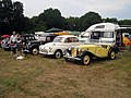 Classic Cars at Preston Rally, Preston Court Farm - geograph.org.uk - 1374375.jpg