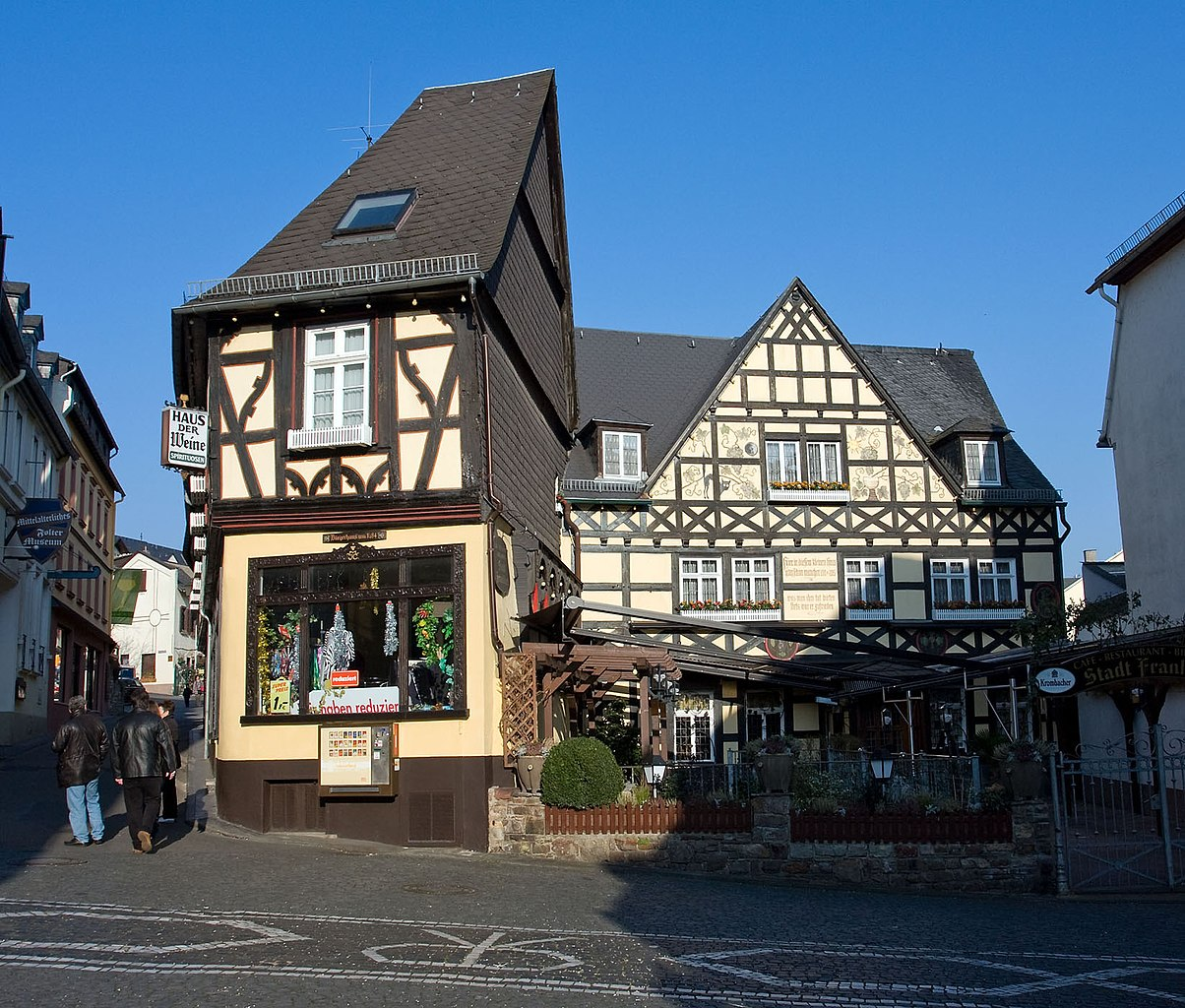 Datei classic german house rudesheim germany for German house builders