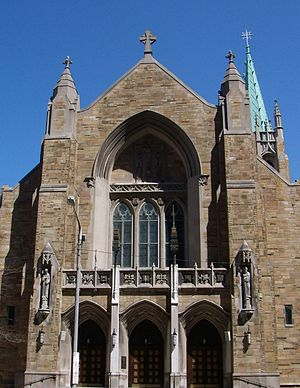 Roman Catholic Diocese of Cleveland - Cathedral of St. John the Evangelist, Cleveland