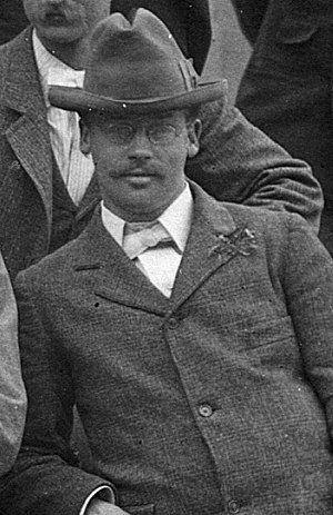 Cleveland Abbe Jr. - Abbe at age 25