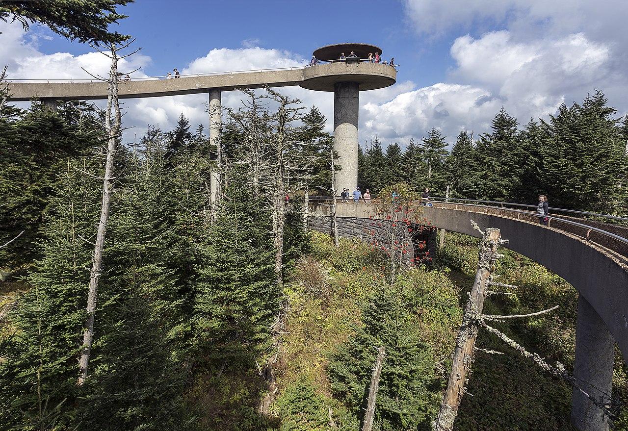 File:Clingmans Dome observation tower TN2.jpg - Wikimedia ...