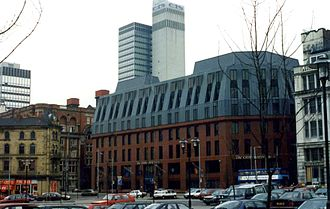 The Co-operative Group - The head offices for The Co-operative Bank and the CIS in Manchester's 'co-op quarter'.