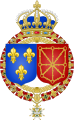 Coat of Arms of France & Navarre.svg