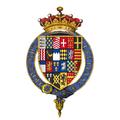 Coat of arms of Sir Robert Bertie, 1st Earl of Lindsey, KG.png