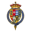 Coat of arms of Sir Robert Dudley, 1st Earl of Leicester, KG.png