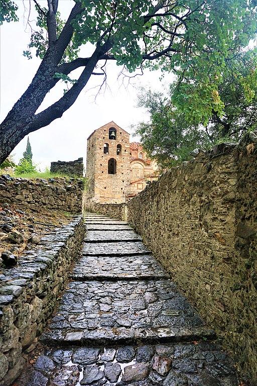 Cobbled Roads of Mystras