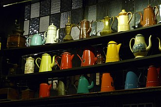 The Troubadour, London - Image: Coffee Pots Troubadour, London
