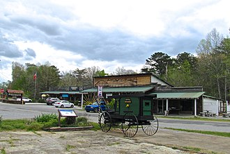 Coker Creek, Tennessee - Shops in Coker Creek