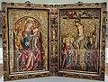 Colonia, maria in trono e crocifissione, 1300-30 ca. 01.JPG