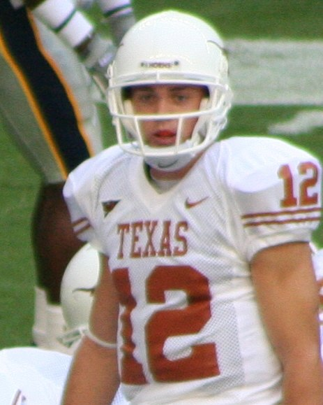 Colt McCoy under center vs Rice cropped