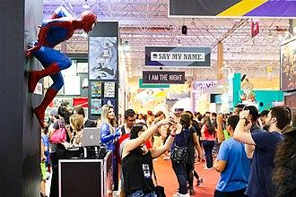 Comic Con Experience - Comic Con Experience in São Paulo in 2015.