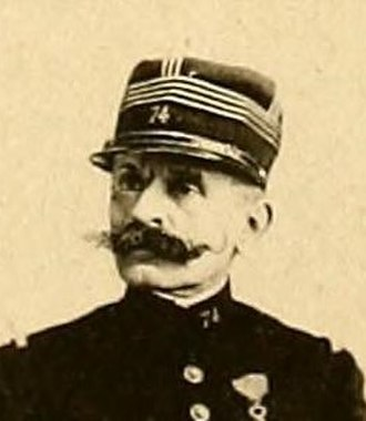 Ferdinand Walsin Esterhazy - Image: Commandant Esterhazy Decoration Enlevee