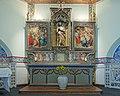 Commanderie Saint-Jean - chapelle - intérieur - retable fermé (Colmar).jpg
