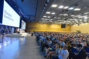 Catalan European Democratic Party - The party's founding congress in July 2016