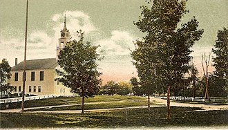 Rindge, New Hampshire - Image: Congregational Church and Common, Rindge Center, NH