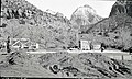 Construction, residence Building 14, Oak Creek. ; ZION Museum and Archives Image 004 03A077 ; ZION 7261 (d29f3809053a467a9de71fbf8b56ace2).jpg