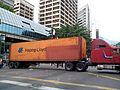Container in protest Venezuela 2017.jpg