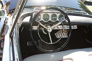 Continental Mark II - 1956 Mark II interior