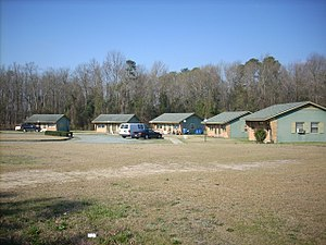 U.S. Route 301 - This former motel, now residential housing, sits on US 301 in Wade, NC