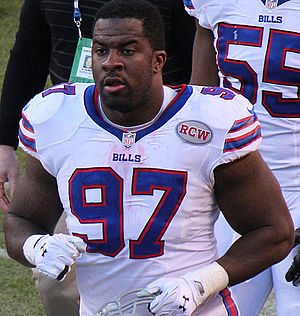 Corbin Bryant - Bryant with the Buffalo Bills in 2014