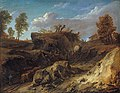 Cornelis Huysmans - The hollow road.jpg