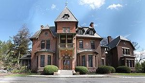 Andrew Dickson White House - White's mansion