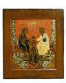 Coronation of Virgin icon (Russian North, c. 1860).jpeg