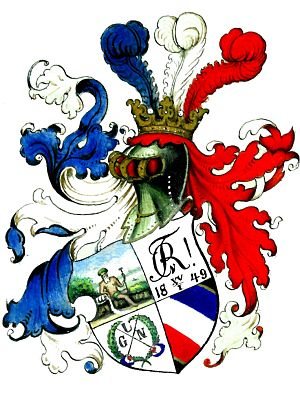 Corps Rhenania Heidelberg - Coat of arms