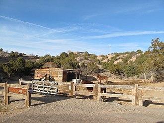 Chupadero, New Mexico - Image: Corral, Chupadero NM