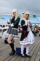 Cosplayers of Sena Kashiwazaki and Kobato Hasegawa, Haganai at FF26 20150830.jpg